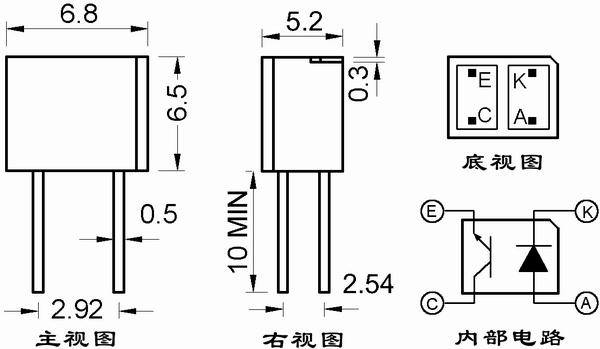 光电传感器st178